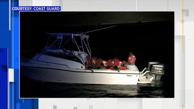 Coast Guard intercepts boat at sea with 5 child migrants from Haiti