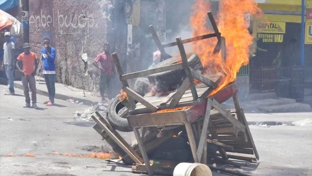 Fiery protests continue in Haiti: 'Battle has just began'