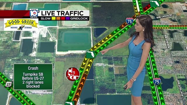 Turnpike crash in Miami-Dade causes traffic delays