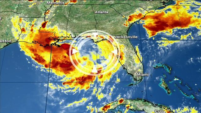 Hurricane watch issued for part of Gulf Coast