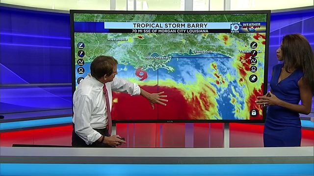 Barry to become hurricane on Saturday