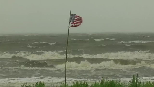 Tropical Storm Barry threatens a long, slow drenching