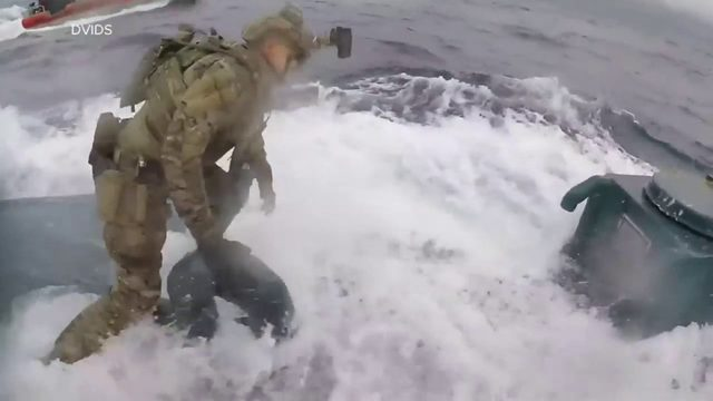 Video shows courageous Coast Guard officers in action at sea