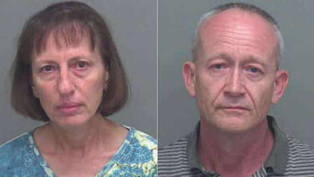 Florida doomsday prepper couple charged with abusing women