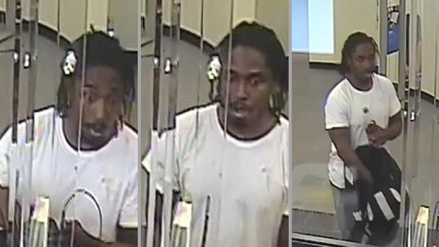 FBI agents search for accused Brickell bank robber