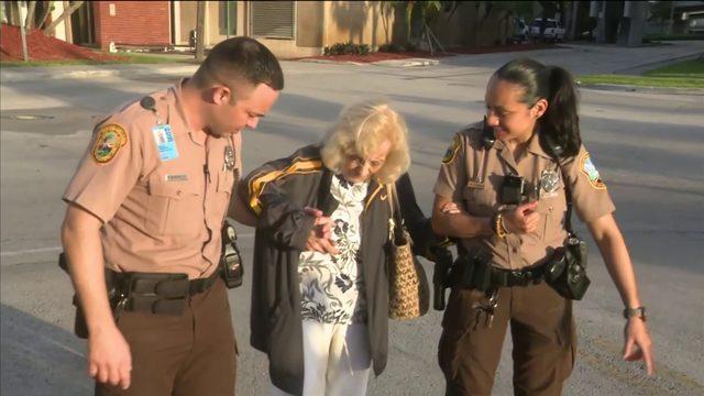 Elderly woman found safe, reunites with husband