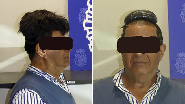 Man busted for hiding $34,000 of cocaine under his wig