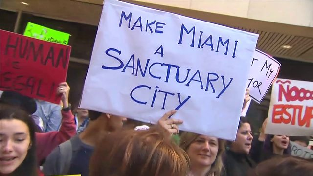 Florida sued over sanctuary policy ban