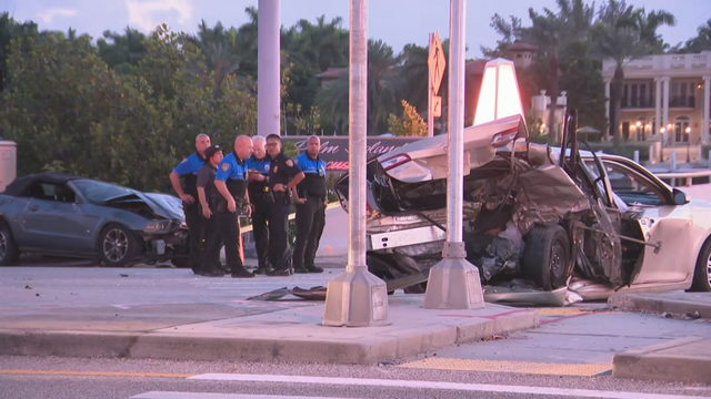 Fatal Deerfield Beach crash caught on restaurant's