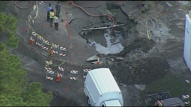 Officials give update on water main break repairs in Fort Lauderdale
