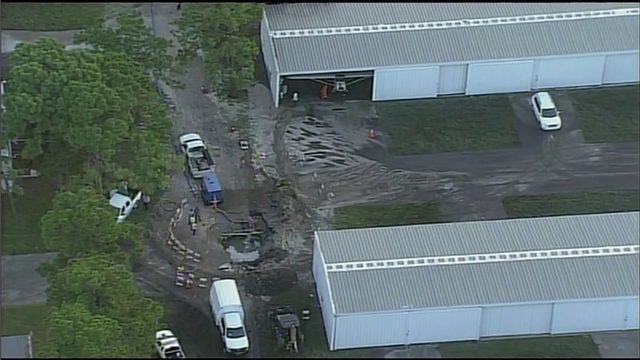 Water main break causes disruption of service for Fort Lauderdale