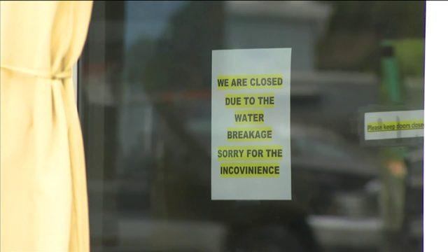 Water main break in Fort Lauderdale hurts businesses in area