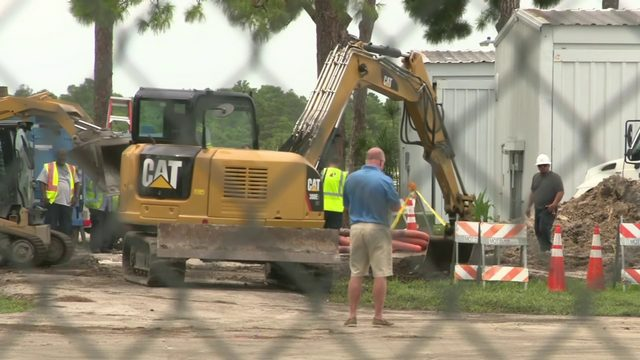 Work to replace pipe in Fort Lauderdale expected to take days