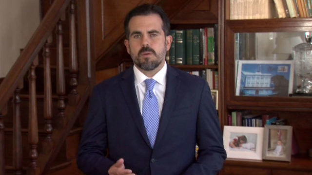 Puerto Rico's governor: I won't seek reelection