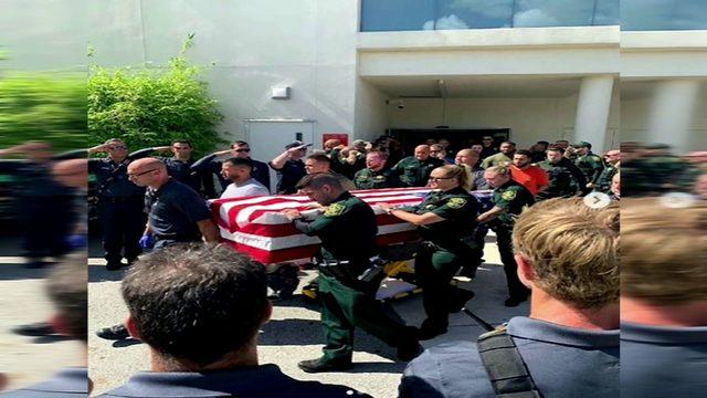 Broward officials salute deputy killed in crash