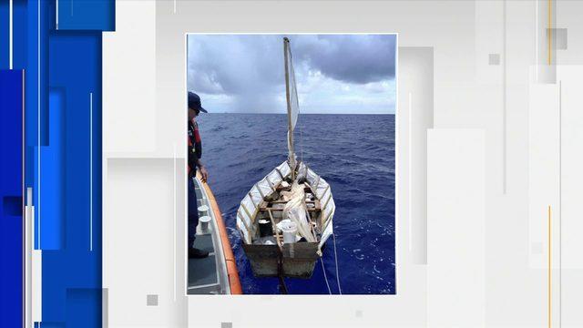 Cuban migrants found at sea in 'hazardous' vessel