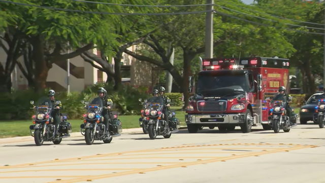 Broward Sheriff's Office salutes deputy killed in crash
