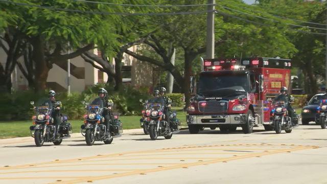 Broward Sheriff's Office salutes deputy killed in crash