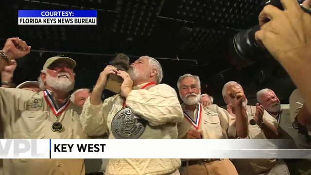 Retired banker wins Ernest Hemingway Look-Alike contest in Key West