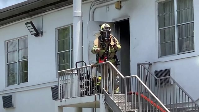 3 hospitalized after fire erupts at Miami Springs hotel