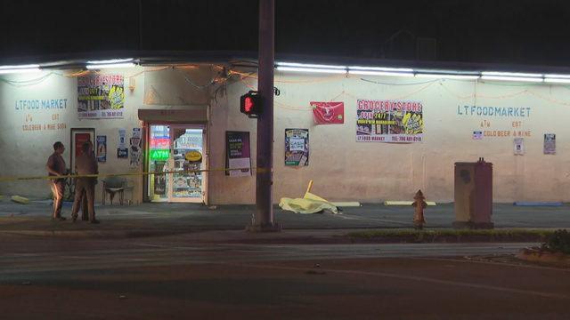 Police investigate fatal shooting outside LT Food Market