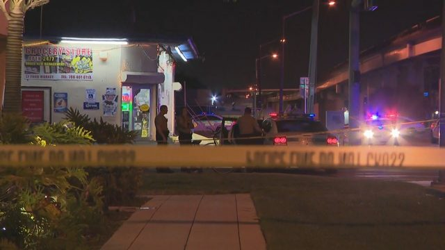 Miami-Dade police investigate fatal shooting outside LT Food Market