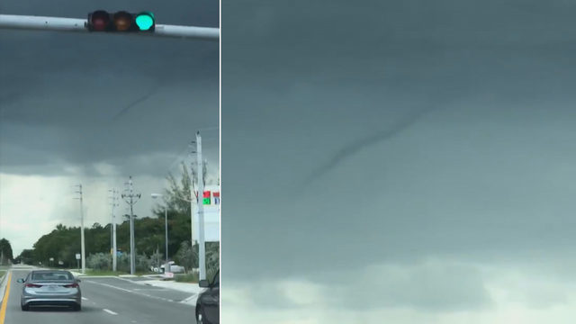 WATCH VIDEO: Funnel cloud spotted over West Kendall