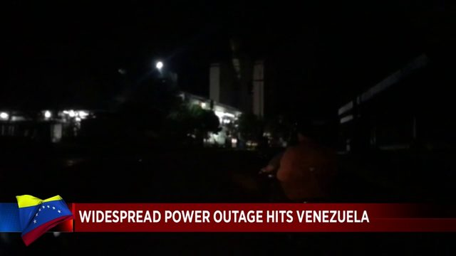 Blackout leaves Venezuela in the dark