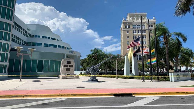 Miami Beach Police Department evacuated as precaution
