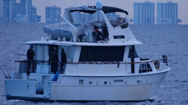 Coast Guard intercepts 'Carefree' yacht with 12 Chinese migrants off…