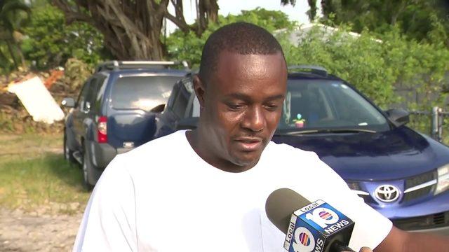 Man says burglars shot at him after he witnessed burglary to Miami police car