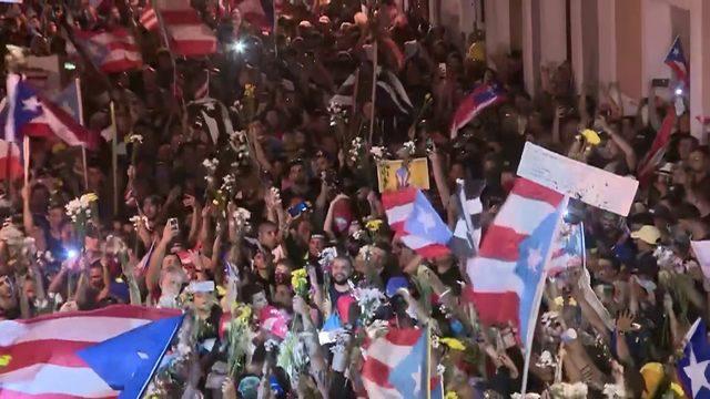 Puerto Rico governor announces resignation on Facebook