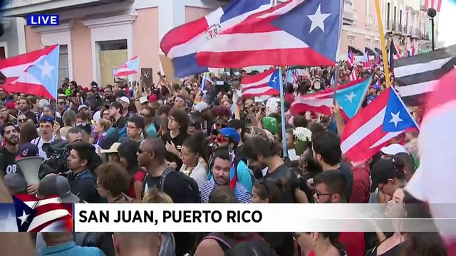 Puerto Ricans wait for impending governor's resignation