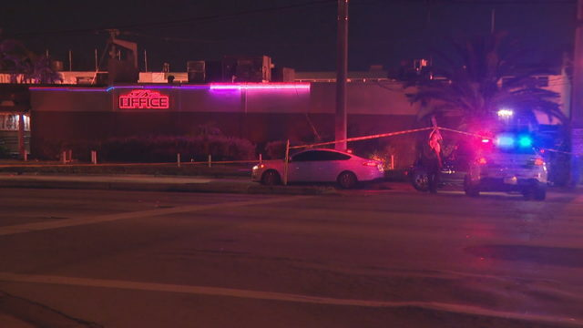 1 killed, 2 injured in shooting at The Office strip club