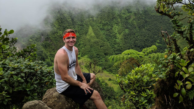 Man recovering in South Florida after falling down volcano during honeymoon