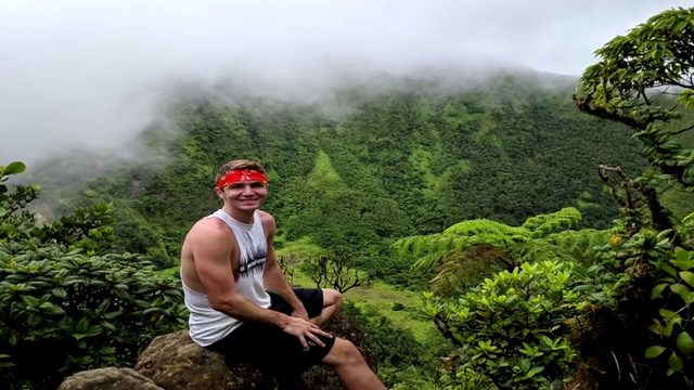 Man recovering after falling into volcano during honeymoon