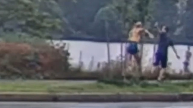 Jogger chases down man who flashed her