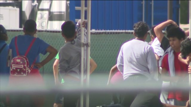 Lawmaker: Detention center for migrant kids is disturbing