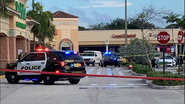 Police kill gunman accused of Dollar Store robbery in Boynton Beach