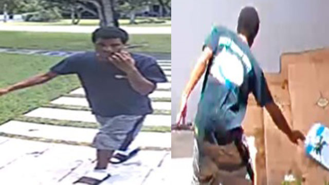 Thief targets at least 5 homes for packages in Miami Shores