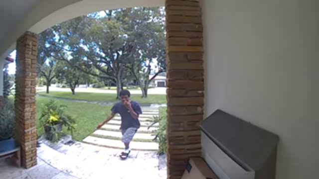 Man caught on camera stealing packages from Miami Shores homes