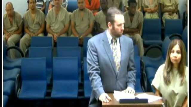 After arrest at airport, accused child abuser appears in court
