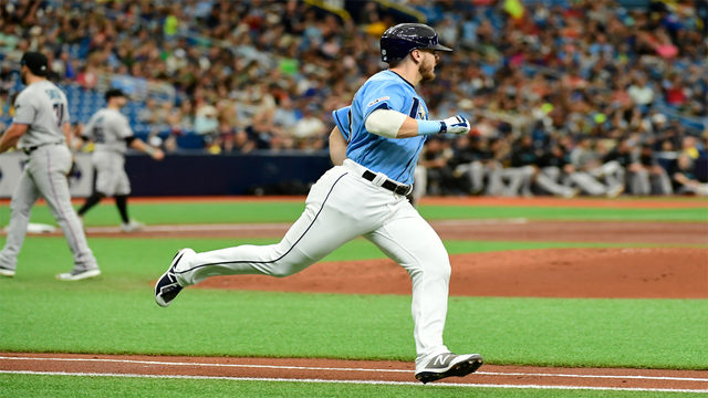 Rays extend winning streak to 6, beat Marlins 7-2