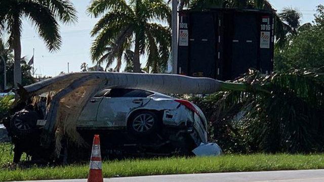 1 injured in Watson Island car crash on MacArthur Causeway