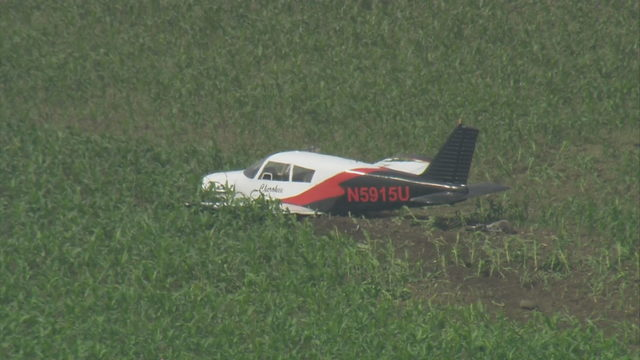 Small plane makes crash landing in field at Miami Executive Airport, FAA says