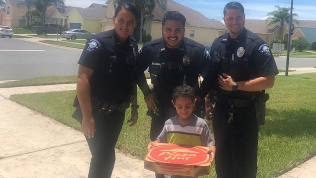 Boy calls 911 to order pizza, gets lesson and a pie