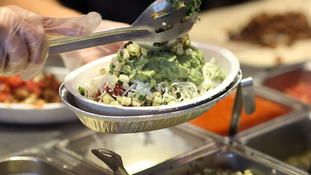 Chipotle bowls contain cancer-linked chemicals, study claims