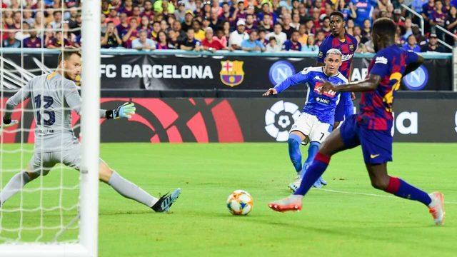 FC Barcelona defeats SSC Napoli at Hard Rock Stadium