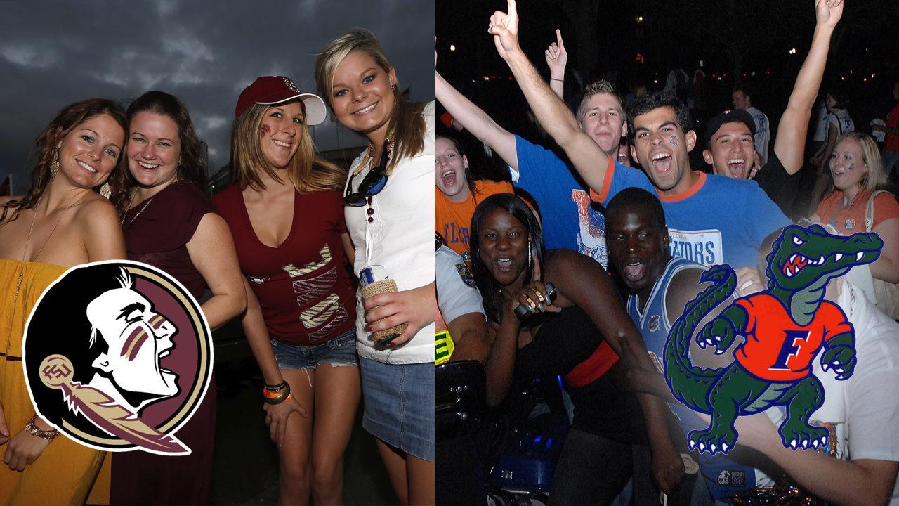 University of Florida, Florida State University crack top party schools list again
