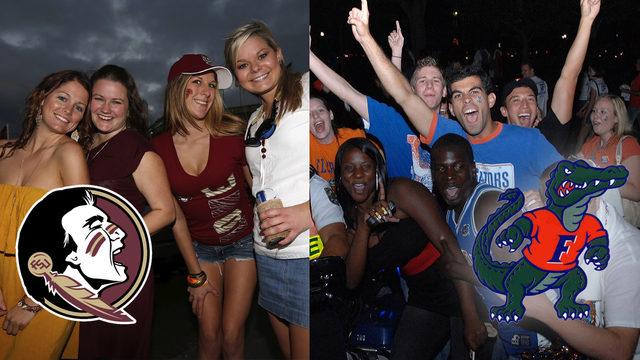 University of Florida, Florida State University crack top party schools…